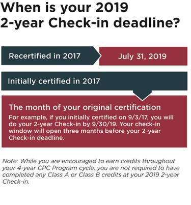 2-Year Check-in | NBCRNA